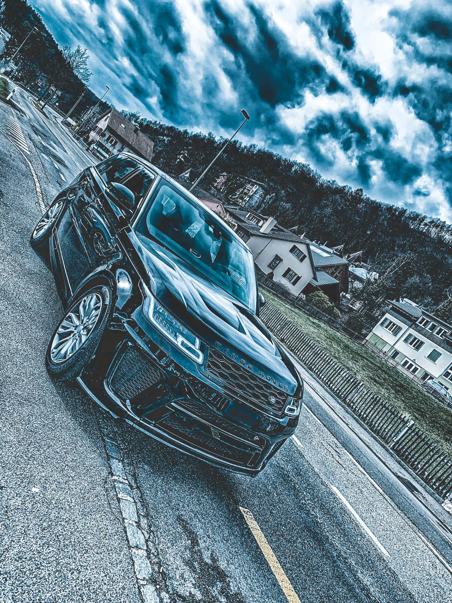 "Maybe the next car ""Range Rover Sport SVR"" 549 PS"